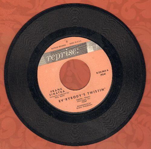 Sinatra, Frank - Ev'rybody's Twistin'/Nothing But The Best (RARE Novelty) - EX8/ - 45 rpm Records