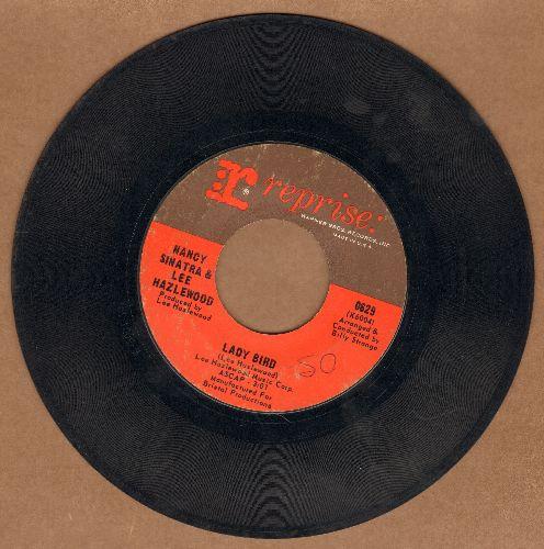 Sinatra, Nancy & Lee Hazlewood - Lady Bird/Sand  - VG7/ - 45 rpm Records