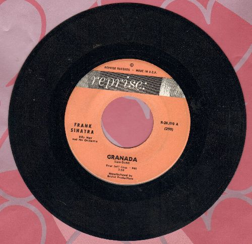Sinatra, Frank - Granada/The Curse Of An Aching Heart  - EX8/ - 45 rpm Records