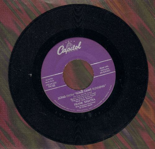 Sinatra, Frank - Song From Some Came Running/No One Ever Tells You (purple label first issue) - VG7/ - 45 rpm Records