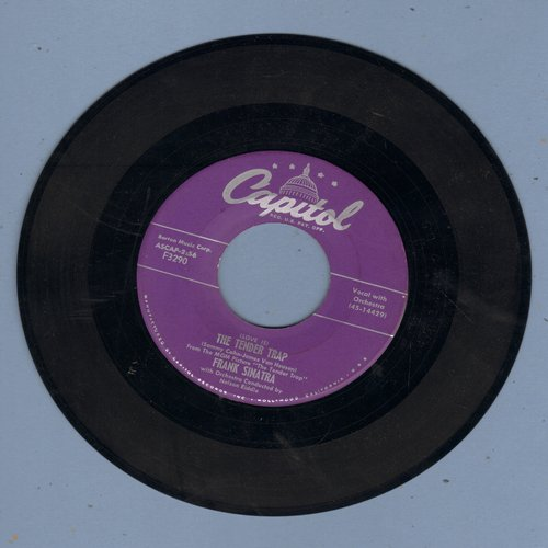 Sinatra, Frank - The Tender Trap/Weep They Will (purple label first pressing) - VG7/ - 45 rpm Records