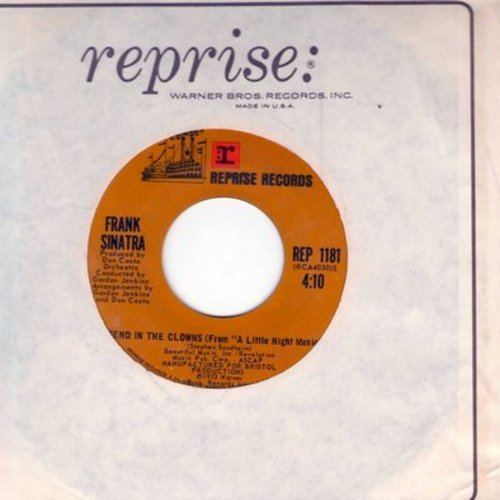 Sinatra, Frank - Send In The Clowns/Let Me Try Again (with Reprise company sleeve) - EX8/ - 45 rpm Records