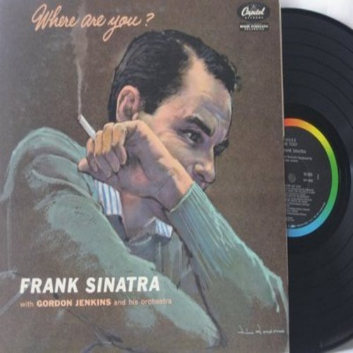 Sinatra, Frank - Where Are You?: Autumn Leaves, I Cover The Waterfront, Laura, Lonely Town, Where Is The One (vinyl MONO LP record) - EX8/EX8 - LP Records