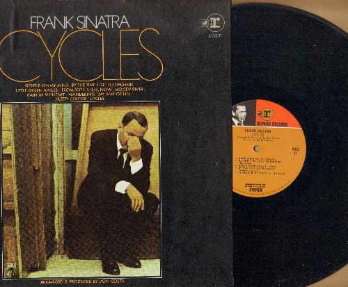 Sinatra, Frank - Cycles: Moon River, Little Green Apples, By The Time I Get To Phoenix, Gentle On My Mind (vinyl STEREO LP record) - NM9/NM9 - LP Records