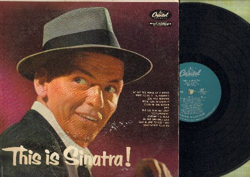 Sinatra, Frank - This Is Sinatra: Love And Marriage, From Here To Eternity, Three Coins In The Fountain, Young-At-Heart (turquise label first pressing) - VG7/VG7 - LP Records