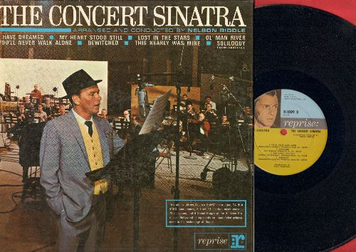 Sinatra, Frank - The Concert Sinatra: My Heart Stood Still, Ol' Man River, Bewitched, You'll Never Walk Alone (vinyl MONO LP record, gate-fold cover) - NM9/NM9 - LP Records