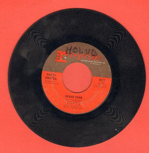 Sinatra, Nancy - Sugar Town/Summer Wine (wol) - VG6/ - 45 rpm Records