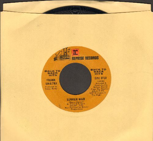 Sinatra, Frank - Summer Wind/Strangers In The Night (double-hit re-issue) - EX8/ - 45 rpm Records