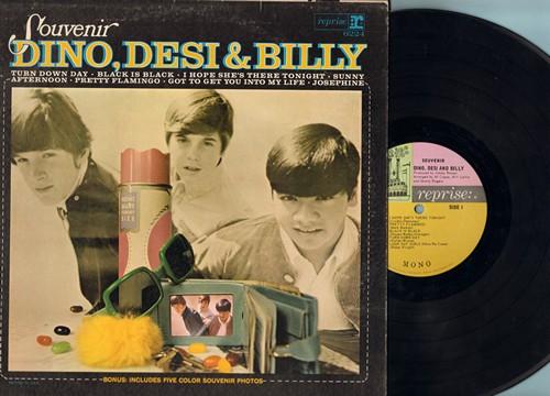 Dino, Desi & Billy - Souvenir: Turn Down Day, Black Is Black, Pretty Flamingo, Got To Get You Into My Life (vinyl MONO LP record) - EX8/EX8 - LP Records