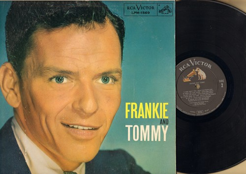 Sinatra, Frank - Frankie And Tommy: Polka Dots And Moonbeams, How About You?, Devil May Care (vinyl MONO LP record, RARE 1957 first pressing with alternate cover!) - EX8/EX8 - LP Records