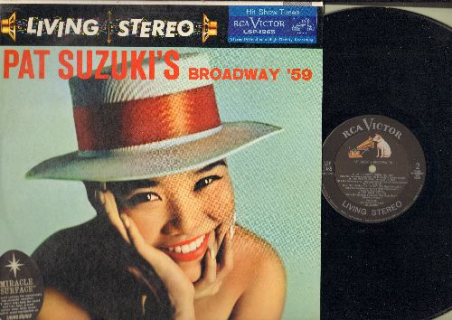 Suzuki, Pat - Pat Suzuki's Broadway '59: I Enjoy Being A Girl, Tonight, On The Street Where You Live, The Party's Over, Till There Was You (vinyl STEREO LP record, NICE condition!) - NM9/NM9 - LP Records