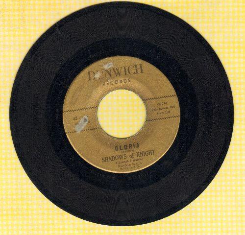 Shadows Of Knight - Gloria/Dark Side (gold label) - VG6/ - 45 rpm Records