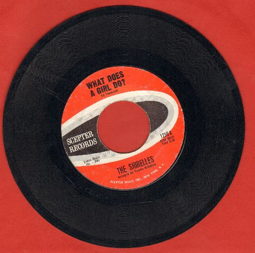 Shirelles - What Does A Girl Do?/Don't Let It Happen To Us - EX8/ - 45 rpm Records