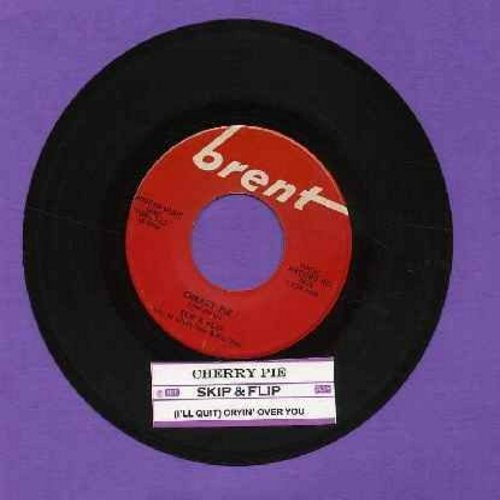 Skip & Flip - Cherry Pie (FANTASTIC 50's Teen-Idol Sound!)/Cryin' Over You (with juke box label) - VG7/ - 45 rpm Records