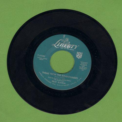 Slatkin, Felix - Theme From The Sundowners/Gaythers Gone - M10/ - 45 rpm Records