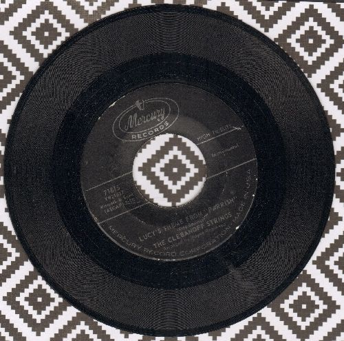 Clebanoff Strings & Chorus - Lucy's Theme From -Parrish-/Theme From -By Love Possessed- - NM9/ - 45 rpm Records
