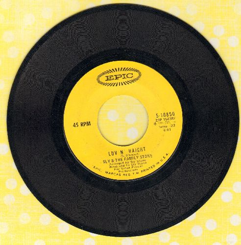 Sly & The Family Stone - Luv N' Haight/Smilin' - EX8/ - 45 rpm Records