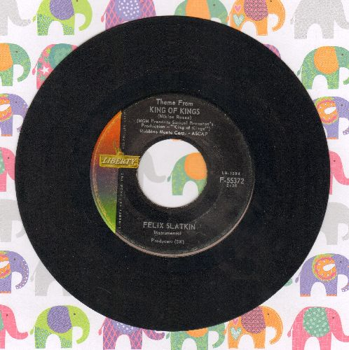 Slatkin, Felix - Theme From King Of Kings/Mandolino - VG7/ - 45 rpm Records