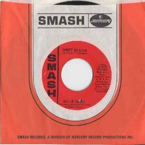 Small, Millie - Sweet William/What Am I Living For (with RARE Smash company sleeve) (bb) - NM9/ - 45 rpm Records