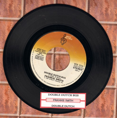 Smith, Frankie - Double Dutch Bus/Double Dutch (inspired by jump-rope game craze of early 1980s) - EX8/ - 45 rpm Records