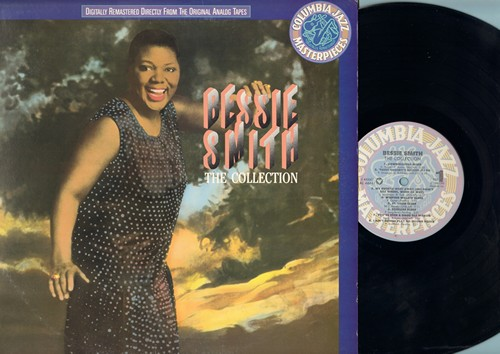 Smith, Bessie - The Collection: St. Louis Blues, Mean Old Bedbug Blues, Do Your Duty, Gimme A Pigfoot (vinyl LP record, DJ advsance pressing, re-issue of vintage 1920s and 1930s Jazz recordings) - NM9/NM9 - LP Records