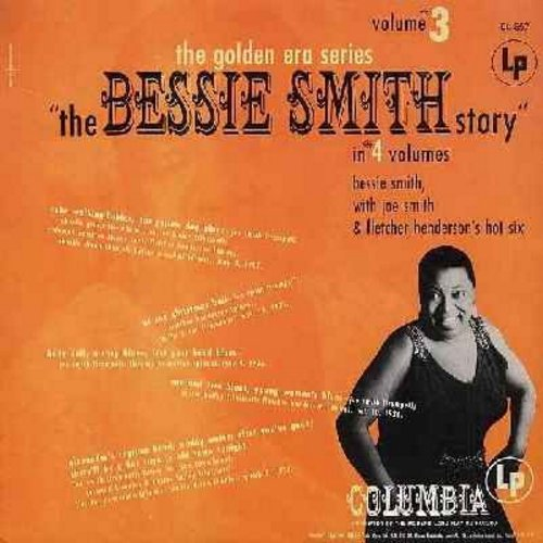 Smith, Bessie - The Bessie Smith Story Vol. 3: Cake Walking Babies, Yellow Dog Blues, Baby Doll, Alexander's Ragtime Band, There'll Be A Hot Time In  Old Town Tonight (vinyl MONO LP record, 1980s re-issue of vintage recordings) - NM9/NM9 - LP Records
