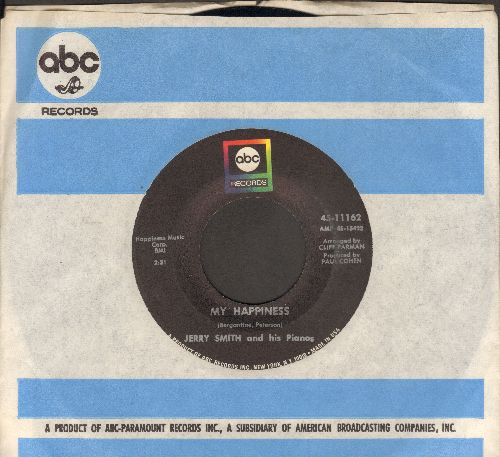 Smith, Jerry - My Happiness/Truck Stop (with ABC company sleeve) - NM9/ - 45 rpm Records
