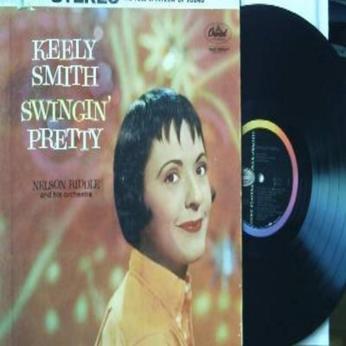 Smith, Keely - Swingin' Pretty: It's Magic, Stormy Weather, It's Been A Long Long Time, The Man I Love, There Will Never Be Another You (vinyl STEREO LP record) - EX8/VG7 - LP Records