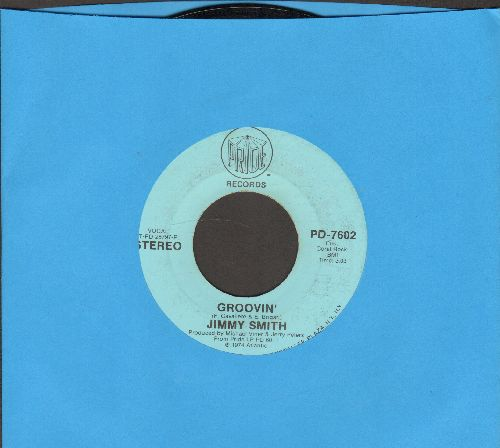 Smith, Jimmy - Groovin'/Why Can't We Live Together - EX8/ - 45 rpm Records