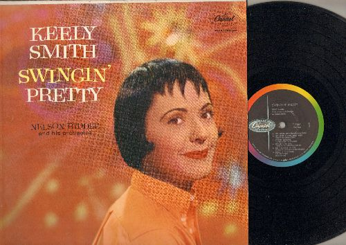 Smith, Keely - Swingin' Pretty: It's Magic, Stormy Weather, It's Been A Long Long Time, The Man I Love, There Will Never Be Another You (vinyl MONO LP record) - EX8/EX8 - LP Records