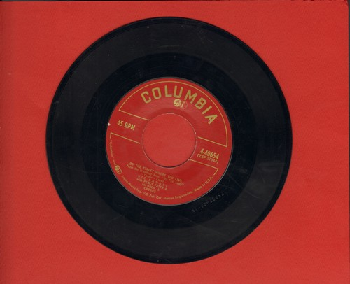Damone, Vic - On The Street Where You Live/We All Need Love (burgundy label first issue) - VG7/ - 45 rpm Records