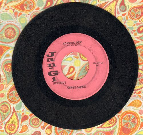 Sweet Smoke - Mary Jane Is To Love/Morning Dew (RARE Garage Rock 2-sider!) - VG7/ - 45 rpm Records