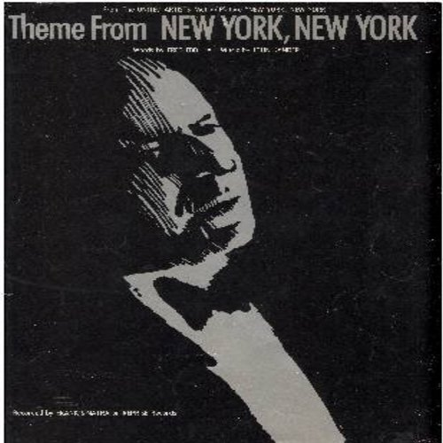 Sinatra, Frank - New York, New York - SHEET MUSIC for the song made famous by Frank Sinatra. GREAT Cover Art! This is SHEET MUSIC, not any other kind of media! - VG7/ - Sheet Music