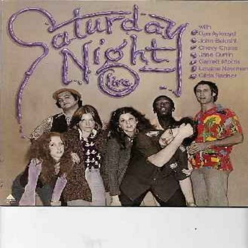 Aycroyd, Dan, John Belushi, Chevy Chase, Jane Curtin, Garrett Morris, Laraine Newman, Gilda Radner - Saturday Night Live - The Not Ready For Prime Time Players Presnt Their 1976 Debut Comedy Album! (vinyl LP record) - NM9/NM9 - LP Records