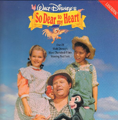 Disney - So Dear To My Heart - LASER DISC version of the beloved Disney Classic (This is a LASER DISC, not any other kind of media!) - M10/EX8 - Laser Discs