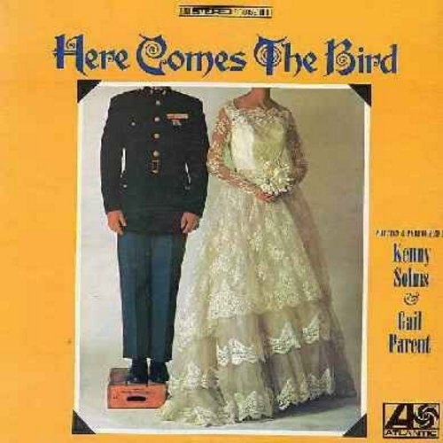 Solms, Kenny & Gail Parent - Here ComesThe Bird - Hilarious Comedy Album inspired by the 1960s President Parodies. This set of routinesfocuses on the extended LBJ Family (vinyl STEREO LP record) - EX8/VG7 - LP Records