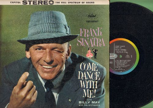 Sinatra, Frank - Come Dance With Me!: Something's Gotta Give, Cheek To Cheek, I Could Have Danced All Night, Dancing In The Dark (vinyl STEREO LP record) - VG7/VG7 - LP Records