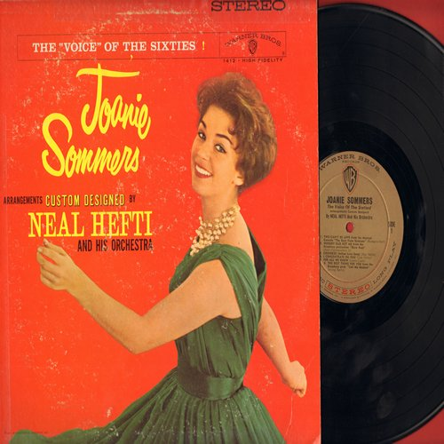 Sommers, Joanie - The Voice Of The Sixties!: For All We Know, Let There Be Love, Cherokee, Nobody Else But Me (vinyl STEREO LP record) - NM9/VG6 - LP Records