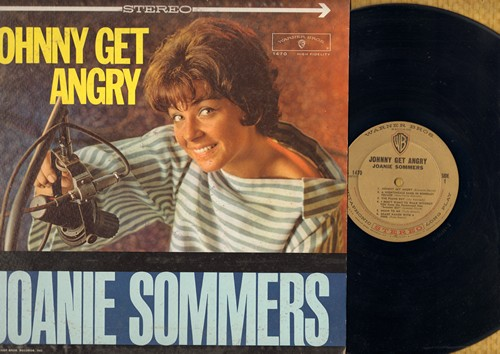 Sommers, Joanie - Johnny Get Angry: The Piano Boy, Shake Hands With A Fool, One Boy, Since Randy Moved Away, Theme From A Summer Place (vinyl STEREO LP record) - EX8/EX8 - LP Records