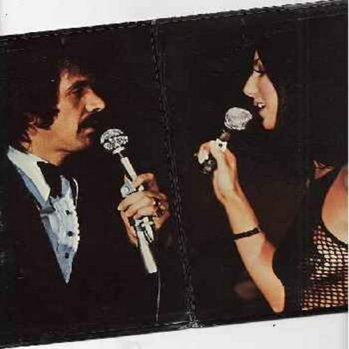 Sonny & Cher - Sonny & Cher Live: What Now My Love, The Beat Goes On, More Today Thatn Yesterday, Danny Boy, Something, I Got You Babe (vinyl STEREO LP record, gate-fold cover) - EX8/EX8 - LP Records