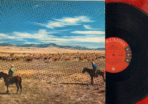 Luboff, Norman Choir - Songs Of The West: Tumbling Tumbleweeds, Cool Water, Home On The Range, Doney Gal, Poor Lonesome Cowboy (vinyl MONO LP record) - NM9/EX8 - LP Records