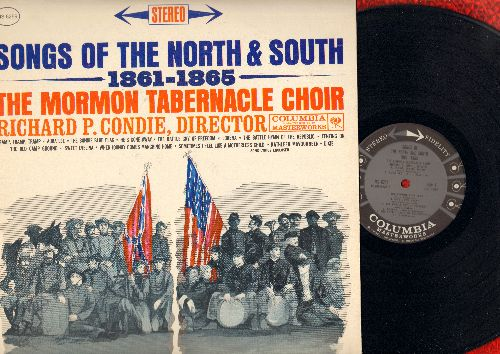 Mormon Tabernacle Choir - Songs Of The Noth & South 1861-1865: Battle Hymn Of The Republic, Dixie, When Johnny Comes Marching Home, Lorena (vinyl STEREO LP record, NICE condition!) - NM9/VG7 - LP Records