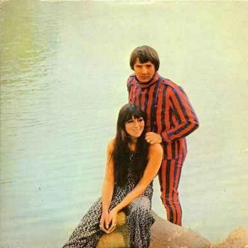 Sonny & Cher - Greatest Hits (double LP!): I Got You Babe, The Beat Goes On, Let It Be Me, What Now My Love (counts as 2 LPs) - NM9/EX8 - LP Records