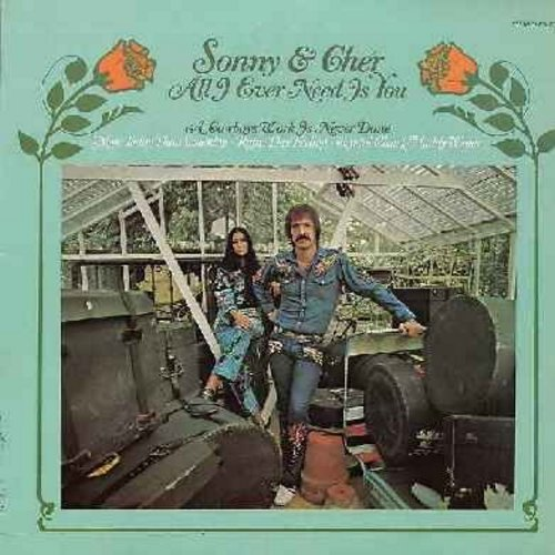 Sonny & Cher - All I Ever Need Is You: A Cowboy's Work Is Never Done, More Today Than Yesterday, Rainy Day Feeling - NM9/EX8 - LP Records