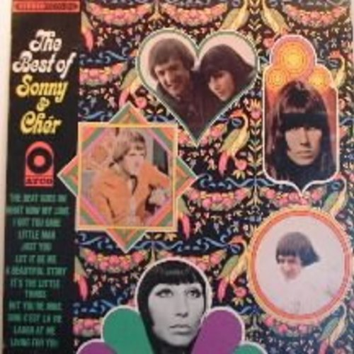 Sonny & Cher - Best Of: I Got You Babe, The Beat Goes On, What Now My Love, Let It Be Me, Laugh At Me - EX8/EX8 - LP Records