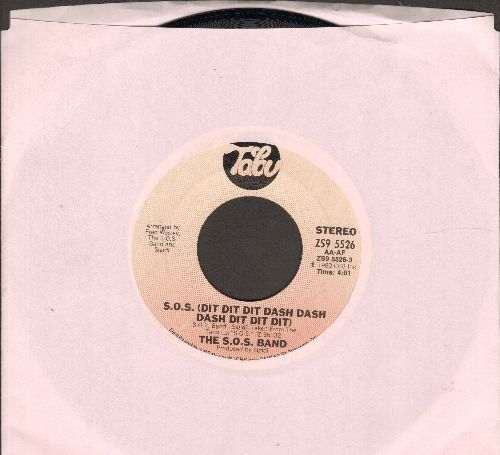 S.O.S. Band - S.O.S. (Dit Dit Dit Dash Dash Dash Dit Dit Dit)/Open Letter  - NM9/ - 45 rpm Records