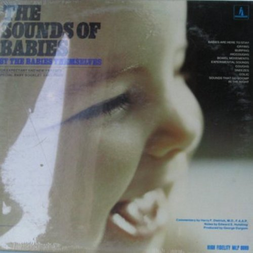 Sounds Of Babies  - The Sounds Of Babies - By The Babies Themselves - For expectant and new parent, special baby booklet enclosed (vinyl MONO LP record, SEALED, never opened!) - SEALED/SEALED - LP Records
