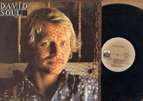Soul, David - David Soul: Don't Give Up On Us, Black Bean Soup, Hooray For Hollywood, Bird On A Wire, The Wall (vinyl STEREO LP record) - NM9/EX8 - LP Records