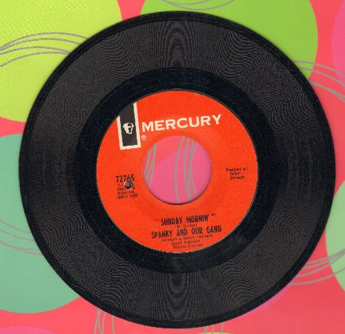 Spanky & Our Gang - Sunday Mornin'/Echoes (bb) - EX8/ - 45 rpm Records