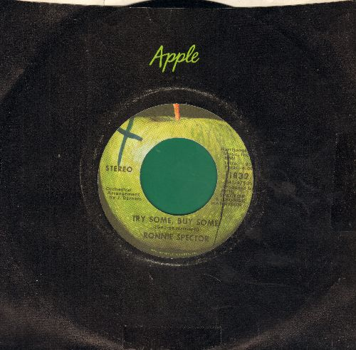 Spector, Ronnie - Try Some, Buy Some/Tandoori Chicken (with Apple company sleeve, minor wol) - NM9/ - 45 rpm Records